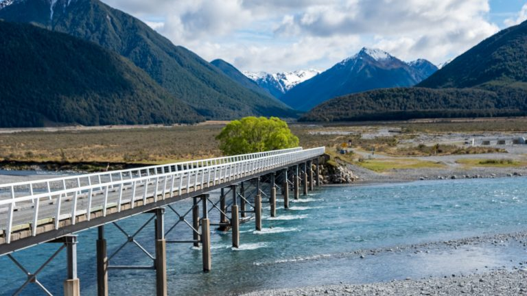 Christchurch to Greymouth on The Tranz Alpine Express